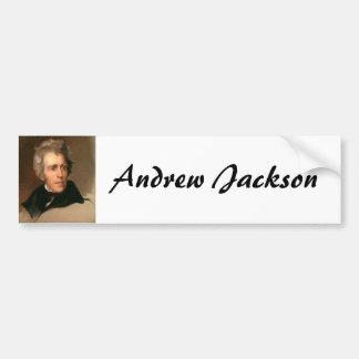 Andrew Jackson Pegatina Para Auto