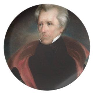 Andrew Jackson Plato Para Fiesta