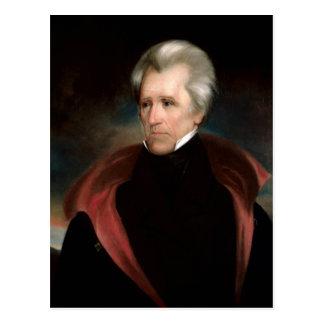 Andrew Jackson Postcard