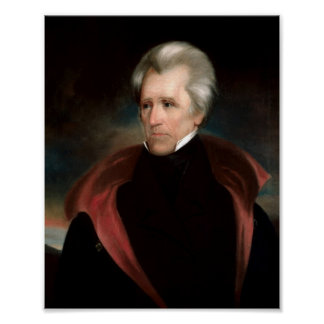 Andrew Jackson Póster