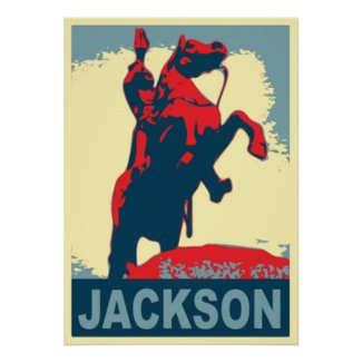 Andrew Jackson Statue New Orleans print