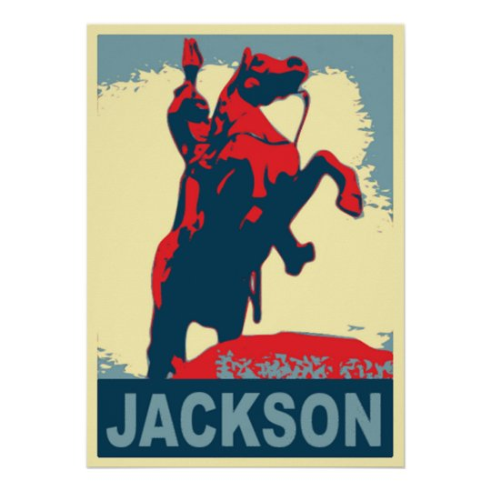 Andrew Jackson Statue New Orleans Poster