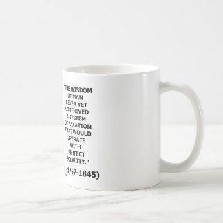 Andrew Jackson Wisdom Contrive Taxation Equality Coffee Mug