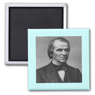 Andrew Johnson 17 2 Inch Square Magnet