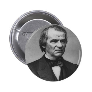 Andrew Johnson 17 Pinback Button