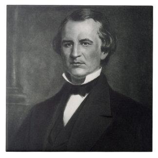Andrew Johnson (1808-75), 17mo presidente de la O. Azulejo Cuadrado Grande