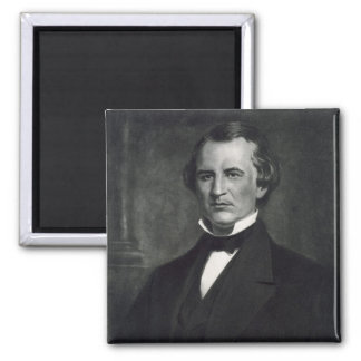 Andrew Johnson (1808-75), 17th President of the Un 2 Inch Square Magnet