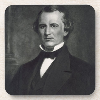 Andrew Johnson (1808-75), 17th President of the Un Beverage Coaster