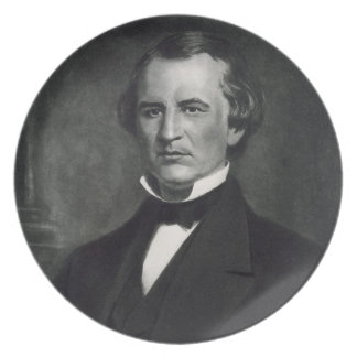 Andrew Johnson (1808-75), 17th President of the Un Melamine Plate
