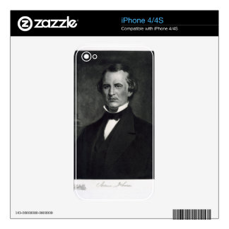 Andrew Johnson (1808-75), 17th President of the Un Skins For The iPhone 4S