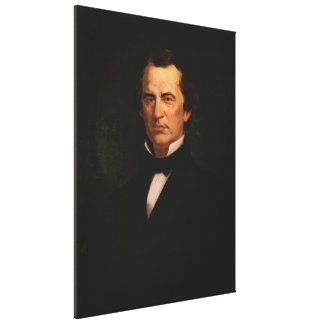 ANDREW JOHNSON by Eliphalet Frazer Andrews Print Gallery Wrap Canvas