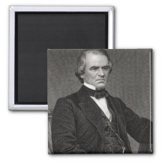 Andrew Johnson, engraved from a photograph by Thom Magnet