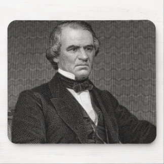 Andrew Johnson, engraved from a photograph by Thom Mouse Pad