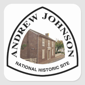 Andrew Johnson National Historic Site Square Sticker