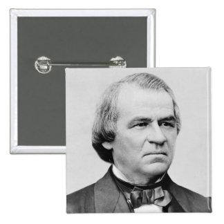 Andrew Johnson Pin Cuadrado