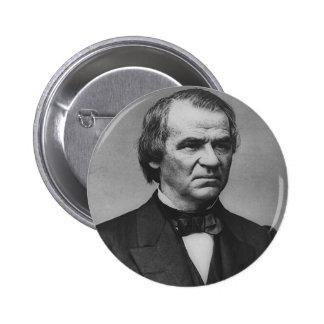 Andrew Johnson Pin Redondo De 2 Pulgadas