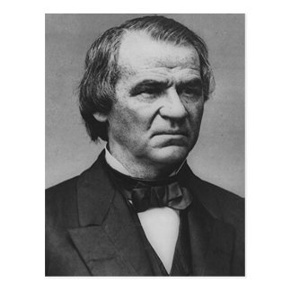 Andrew Johnson Postcard