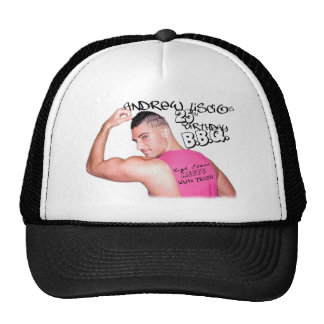 Andrew Liscio 25th Birthday Edition Trucker -Black Trucker Hat