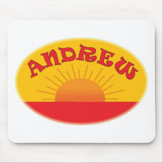 Andrew Logo Mouse Pad