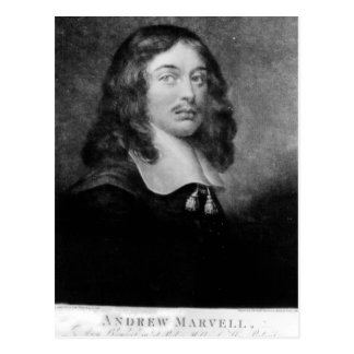 Andrew Marvell engraved by John Raphael Smith Post Card