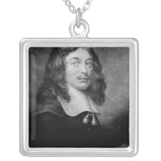 Andrew Marvell , engraved by John Raphael Smith Square Pendant Necklace