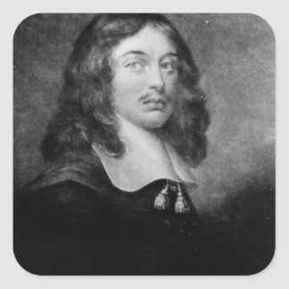 Andrew Marvell , engraved by John Raphael Smith Square Sticker