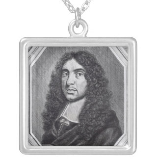 Andrew Marvell Square Pendant Necklace