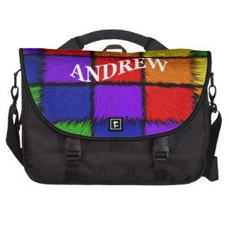 ANDREW (nombres masculinos) Bolsa Para Ordenador