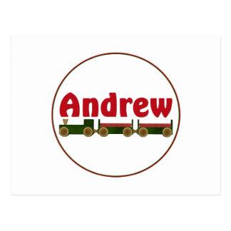 Andrew (tren) postales
