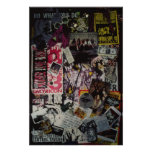 Andrew Wood Collage Poster