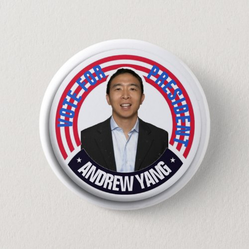 Andrew Yang for President 2020 Button