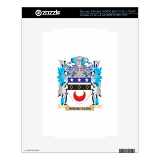 Andrewes Coat Of Arms Decal For NOOK