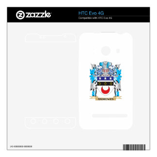 Andrewes Coat Of Arms Skin For The HTC Evo 4G