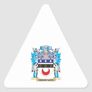 Andrewes Coat Of Arms Sticker