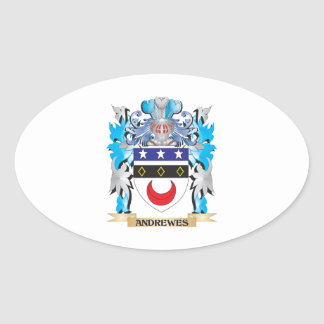 Andrewes Coat Of Arms Stickers