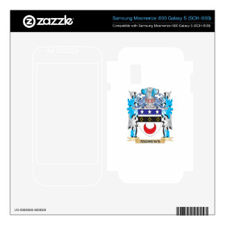 Andrews Coat Of Arms Samsung Mesmerize Skin