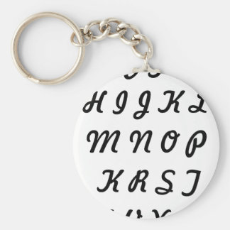 Andrew's Collection Basic Round Button Keychain