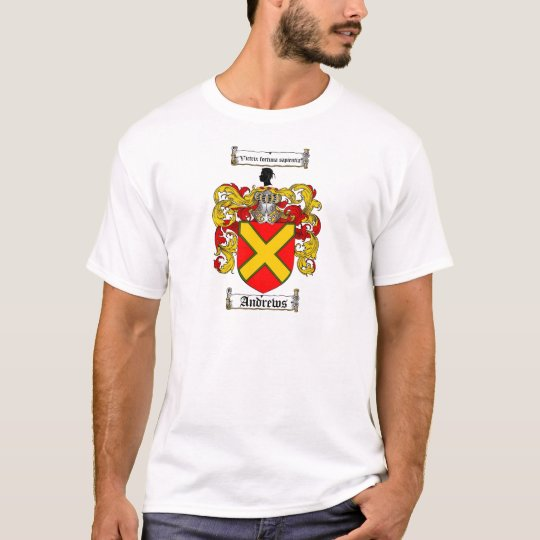 ANDREWS FAMILY CREST -  ANDREWS COAT OF ARMS T-Shirt