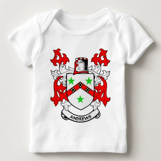 Andrews Family Crest Baby T-Shirt