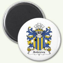 Andrews Family Crest Magnet