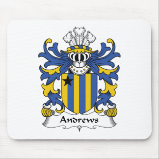 Andrews Family Crest Mouse Pad