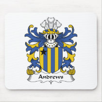 Andrews Family Crest Mousepad
