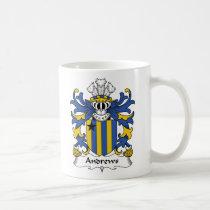 Andrews Family Crest Mug