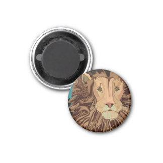 Andrew's Mane Story 1 Inch Round Magnet