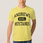 Andrews - Mustangs - High School - Andrews Texas T-shirt