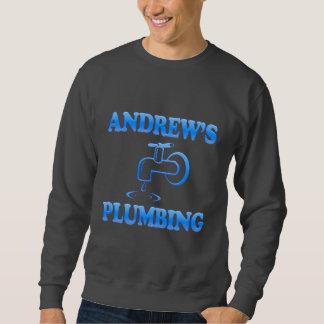 Andrew's Plumbing Pullover Sweatshirt