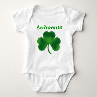 Andrews Shamrock Baby Bodysuit