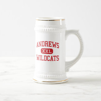 Andrews - Wildcats - High - Andrews North Carolina Beer Stein