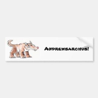 Andrewsarchus Bumper Sticker