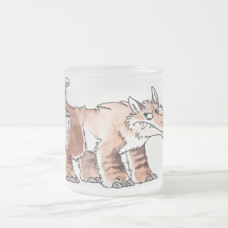 Andrewsarchus Frosted Glass Coffee Mug